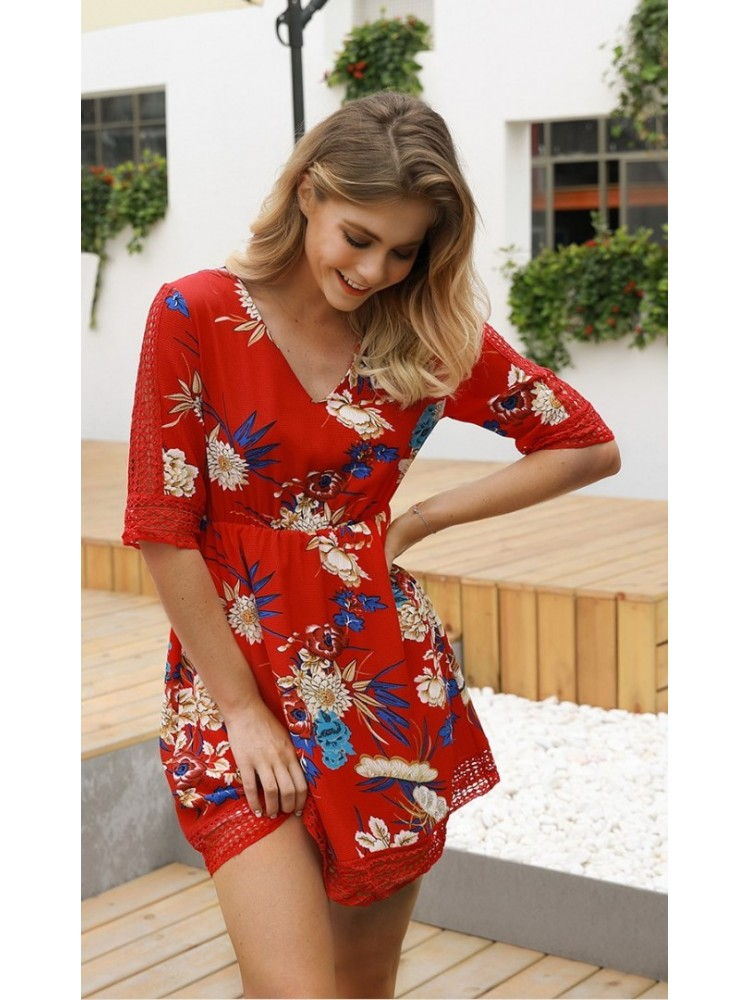 Rochie Any Red